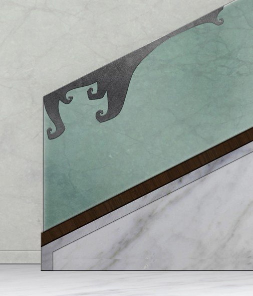 Staircase Glass Railing Designs